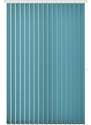 Vertical Blinds Unicolour FR Escape Teal