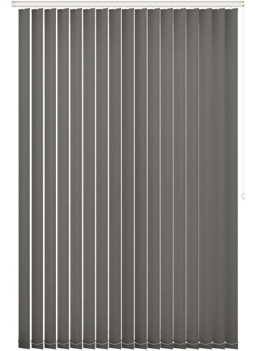Vertical Blinds Unicolour FR Flint Grey