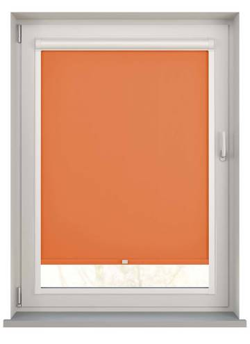 Perfect Fit Roller Blinds Unicolour FR Rayon Orange