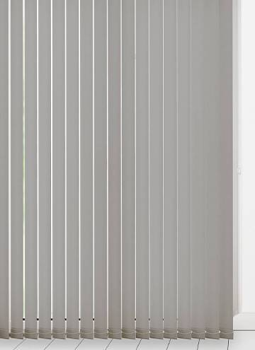 Vertical Blinds Unilux PVC Blackout Grey