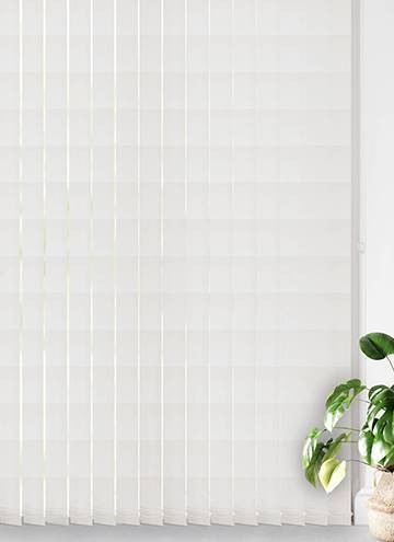 Vertical Blinds Unilux PVC Blackout White