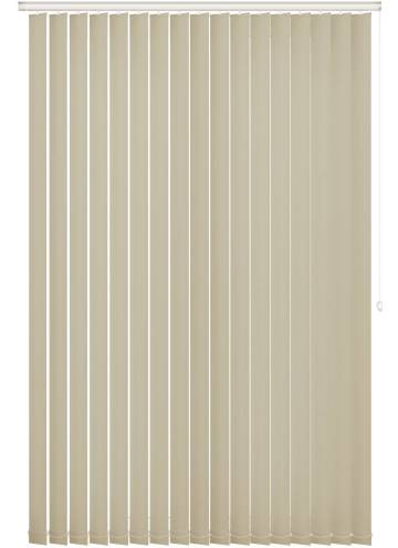 Replacement Vertical Blind Slats Unishade Blackout FR Beige