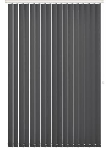 Replacement Vertical Blind Slats Unishade Blackout FR Black
