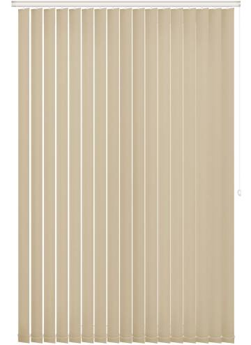 Replacement Vertical Blind Slats Unishade Blackout FR Cream