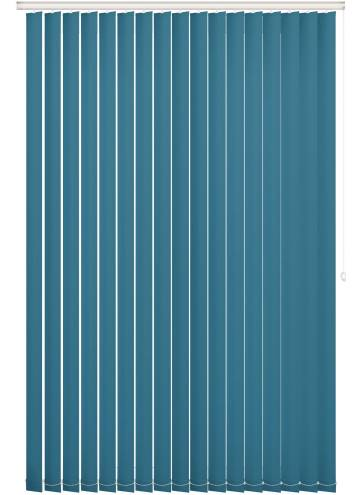 Replacement Vertical Blind Slats Unishade Blackout FR Escape Teal