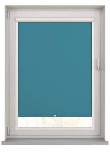 Perfect Fit Roller Blinds Unishade Blackout FR Escape Teal