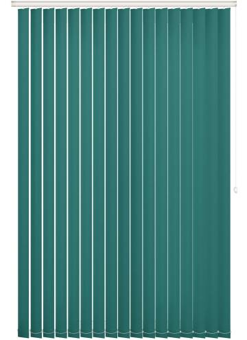 Replacement Vertical Blind Slats Unishade Blackout FR Glade Green