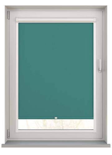 Perfect Fit Roller Blinds Unishade Blackout FR Glade Green