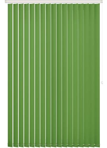 Vertical Blinds Unishade Blackout FR Kiwi Green