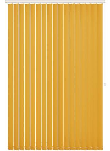 Vertical Blinds Unishade Blackout FR Luna Yellow
