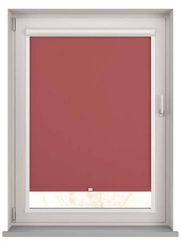 Perfect Fit Roller Blinds Unishade Blackout FR Morello Red