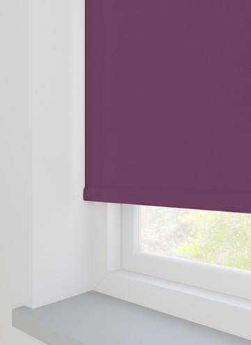 Unishade Blackout FR Mulberry Purple