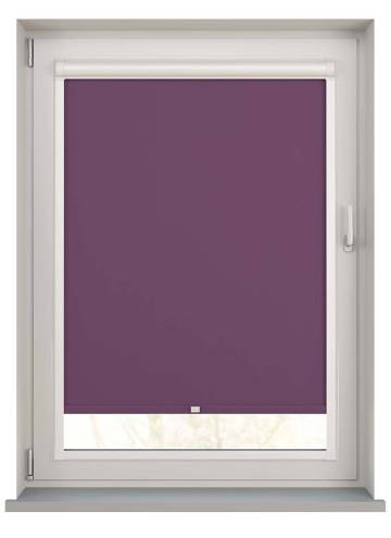Perfect Fit Roller Blinds Unishade Blackout FR Mulberry Purple