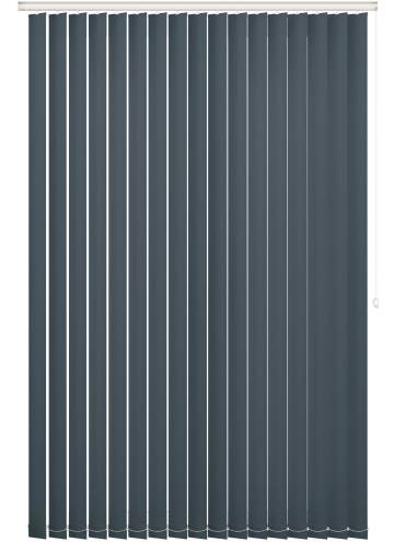 Replacement Vertical Blind Slats Unishade Blackout FR Navy Blue