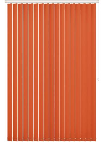 Replacement Vertical Blind Slats Unishade Blackout FR Rayon Orange