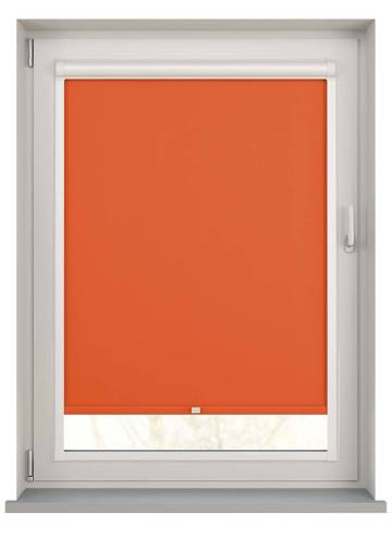 Perfect Fit Roller Blinds Unishade Blackout FR Rayon Orange