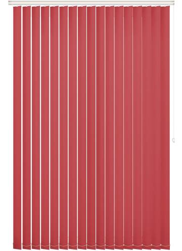Replacement Vertical Blind Slats Unishade Blackout FR Red
