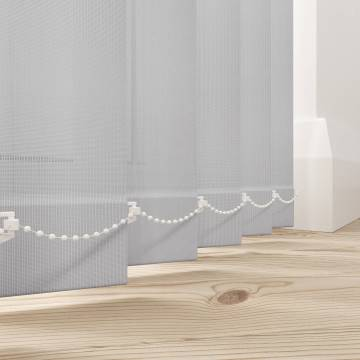 Replacement Vertical Blind Slats Uniview 3200 Astral Grey