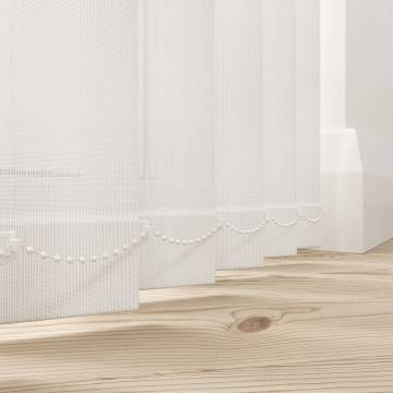Replacement Vertical Blind Slats Uniview 3200 Prima White