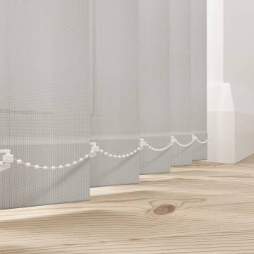 Replacement Vertical Blind Slats Uniview 3200 Spark White/Grey