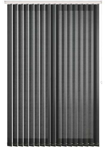 Replacement Vertical Blind Slats Uniview 3200 Spectre Black/Grey