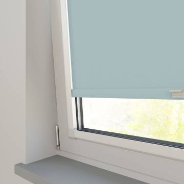 Perfect Fit Roller Blinds Vitra Blackout Aqua