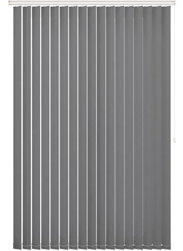 Replacement Vertical Blind Slats Vitra Blackout Ash Grey