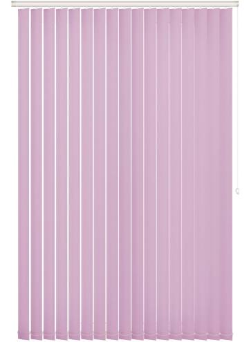 Replacement Vertical Blind Slats Vitra Blackout Bambino Pink