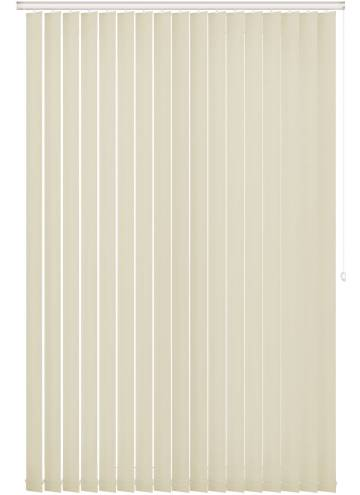 Replacement Vertical Blind Slats Vitra Blackout Cream