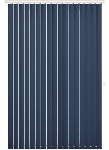 Replacement Vertical Blind Slats Vitra Blackout Deep Plum