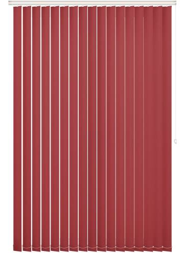 Replacement Vertical Blind Slats Vitra Blackout Flame