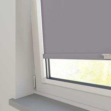 Perfect Fit Roller Blinds Vitra Blackout Flint