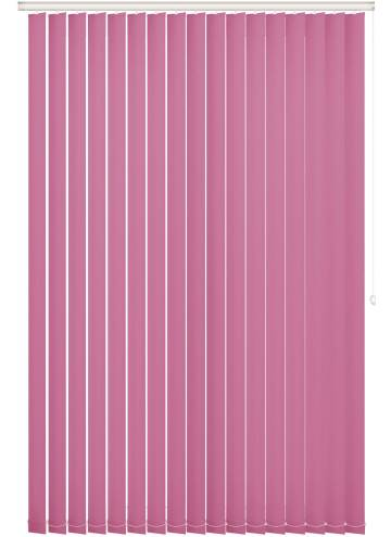 Replacement Vertical Blind Slats Vitra Blackout Kitty Pink
