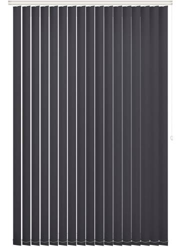 Replacement Vertical Blind Slats Vitra Blackout Licorice