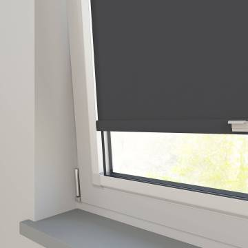 Perfect Fit Roller Blinds Vitra Blackout Licorice