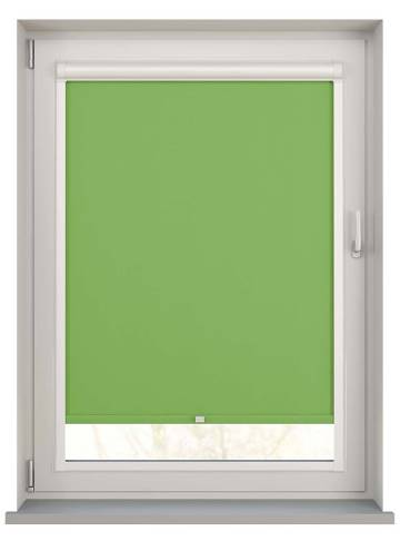 Perfect Fit Roller Blinds Vitra Blackout Lime Green