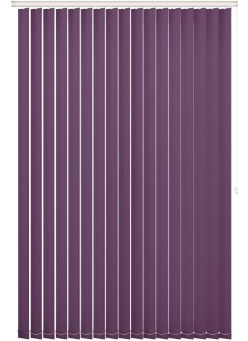 Replacement Vertical Blind Slats Vitra Blackout Passion