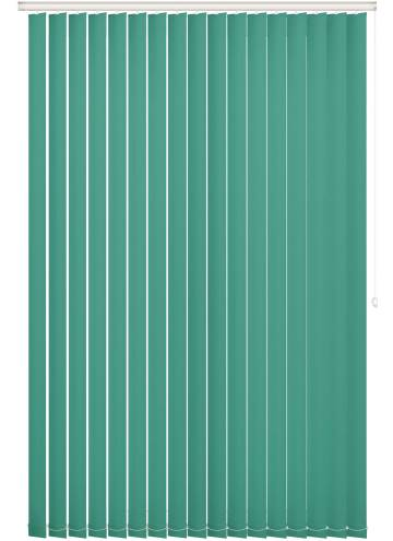 Replacement Vertical Blind Slats Vitra Blackout Sea Green