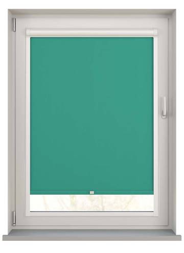 Perfect Fit Roller Blinds Vitra Blackout Sea Green