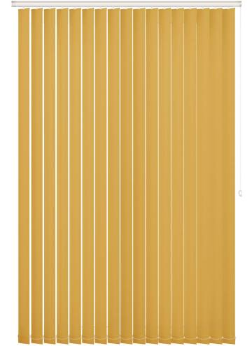 Replacement Vertical Blind Slats Vitra Blackout Sunburst Yellow