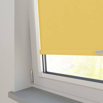 Perfect Fit Roller Blinds Vitra Blackout Sunburst Yellow