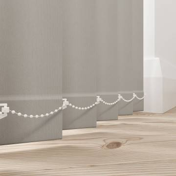 Vertical Blinds Vitra Blackout Vapour Grey