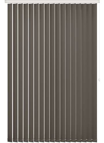 Replacement Vertical Blind Slats Vitra Blackout Zinc