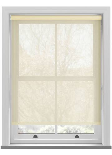 Roller Blinds Voile Cream