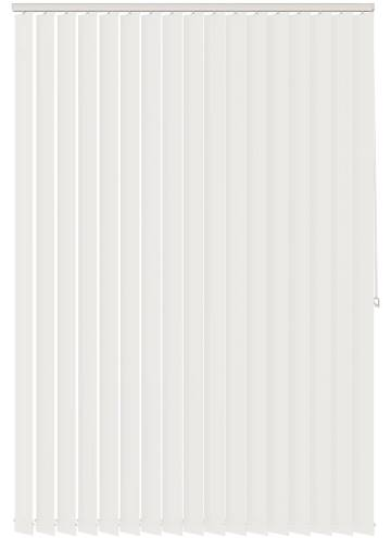 Vertical Blinds Voile FR LL Brilliant White
