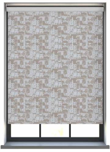Roller Blinds Whitby PVC Blackout Stone Grey