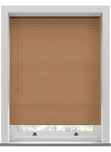 Venetian Blinds Wood Grain Effect 25mm Oak