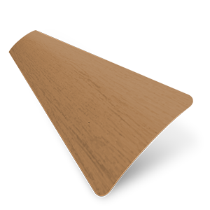 Wood Grain Effect 25mm Oak