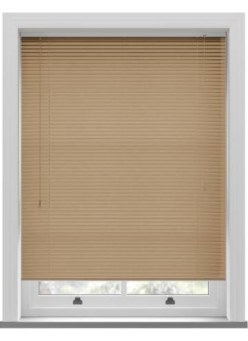 Venetian Blinds Wood Grain Effect 25mm Light Oak