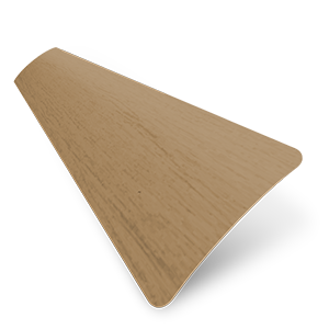 Wood Grain Effect 25mm Light Oak